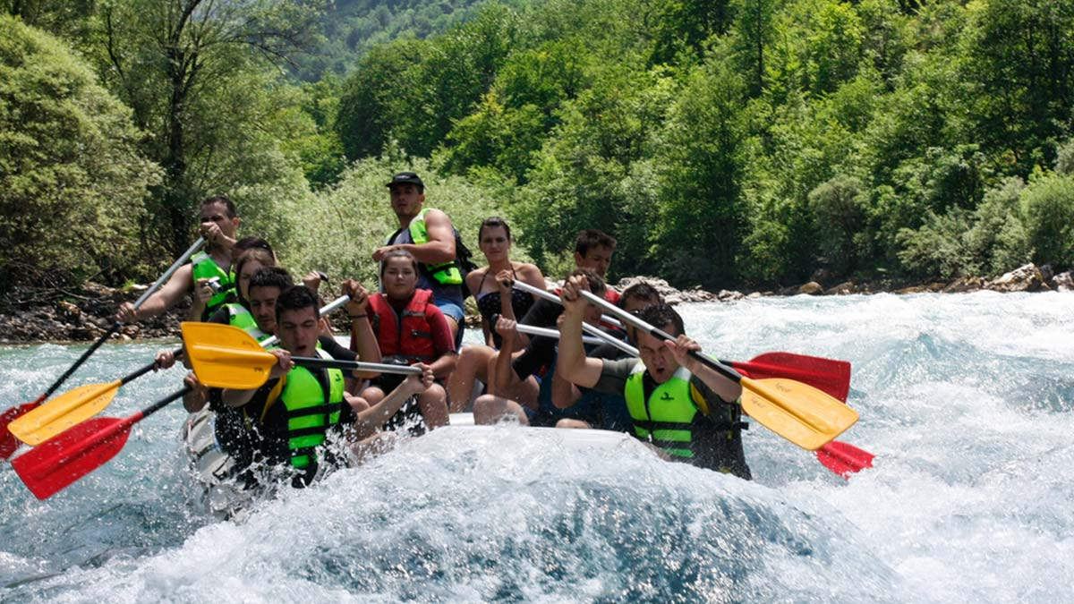 Rafting and Canoeing (Tara river)